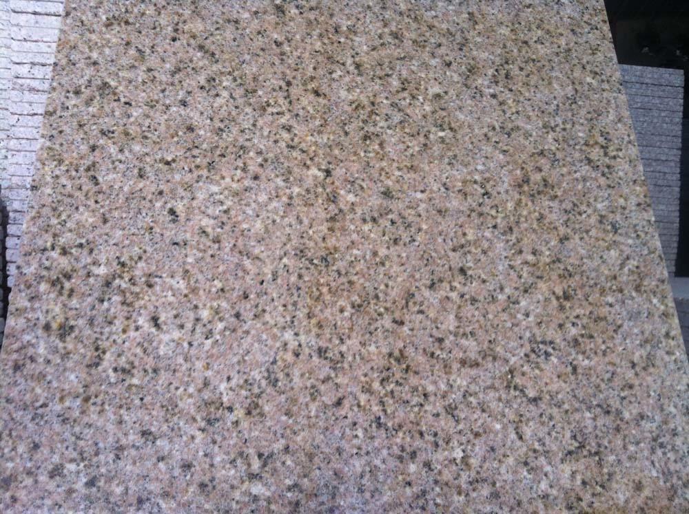 Popular Polished Yellow Rusty Stone G682 Granite Slab