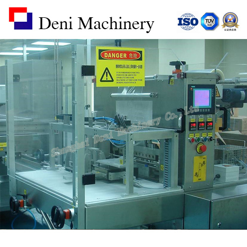 Film Full-Over Wrapping Machine with Stacker