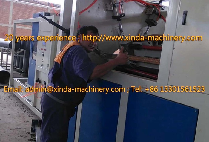 75-250mm PE PP Pipe Production Line Machinery