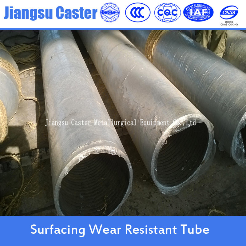 Hardfacing Pipe Bimetallic Compund Abrasion Resistant Steel Pipe