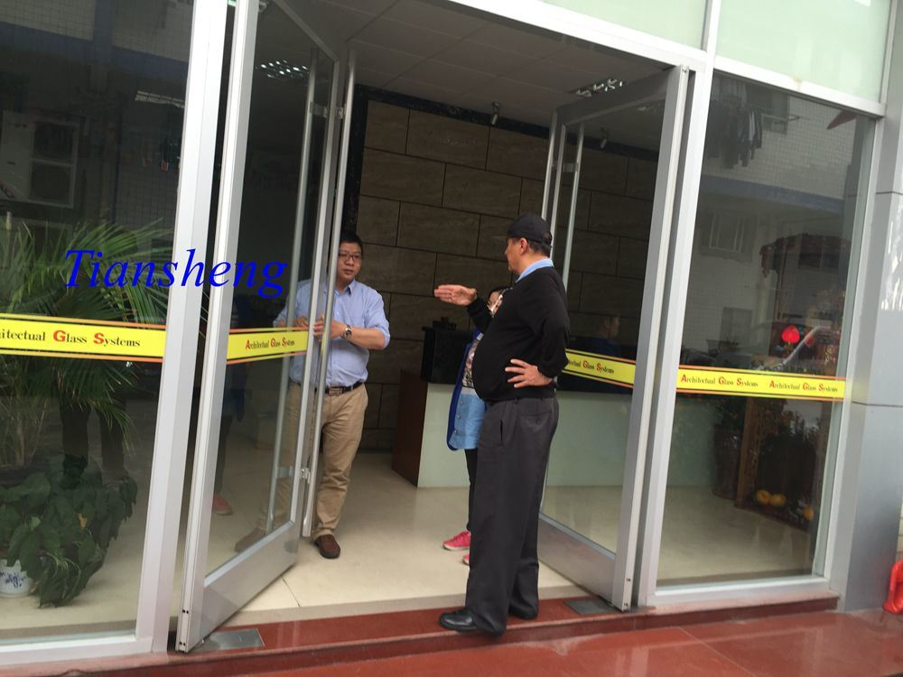 Aluminum Entrance Door for High Building