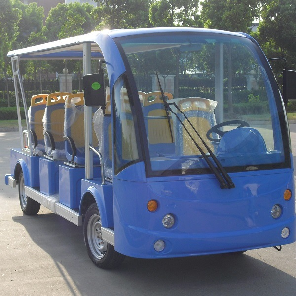 China Factory Battery Power 11 Seater Electric Shuttle Car (DN-11)