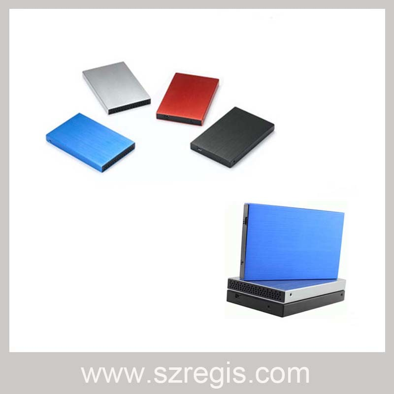 Aluminum Material USB3.0 HDD Enclosure Support 1tb Large Capacity