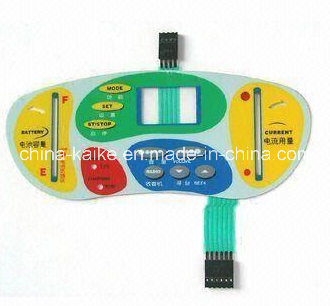 Membrane Switch with Metal Dome for Electronic Equipment
