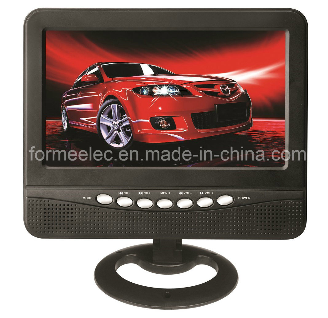 "7"" Portable TV TFT LCD Television with USB SD FM"