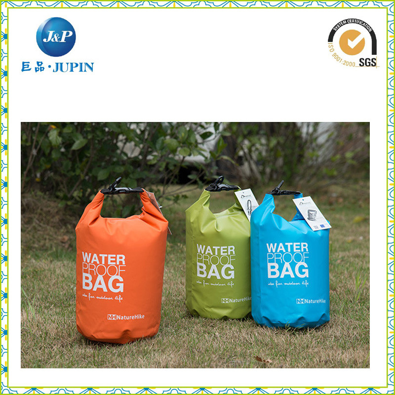 50L Big Volume Nylon Waterproof Barrel Backpack Dry Bag (JP-WB007)