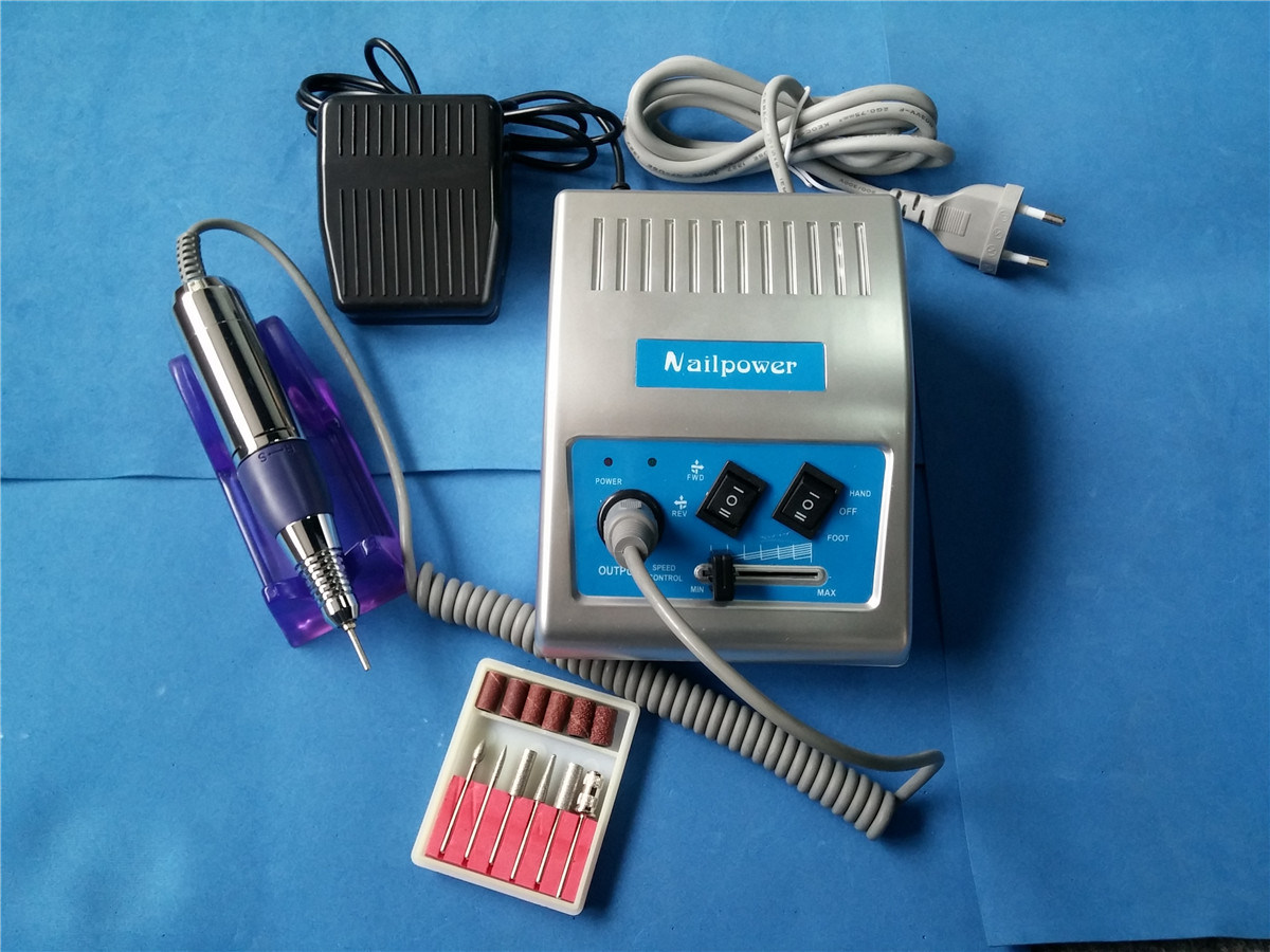 Electrical Nail Drill Manicure Tool Nail Glazing Machine