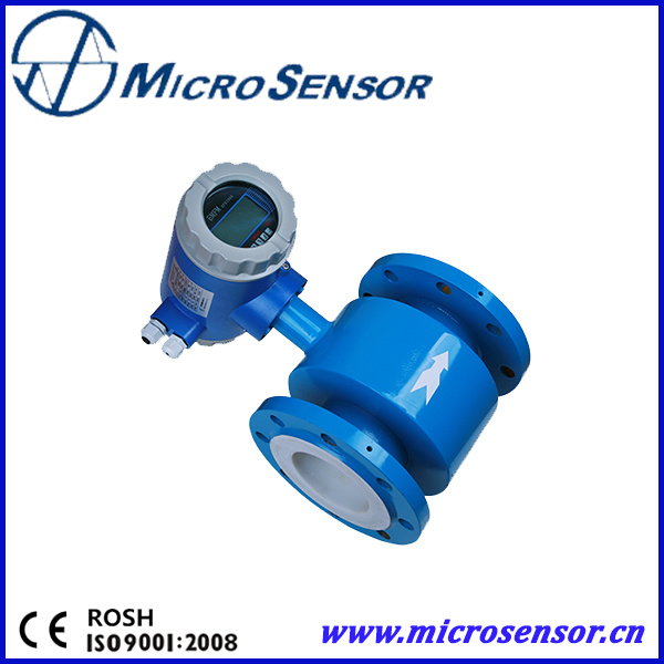 Intelligent Electromagnetic Flowmeter with High Accuracy Mfe600
