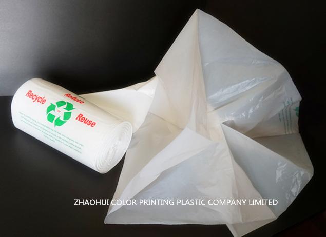 Red Star Seal Plastic Garbage Bag