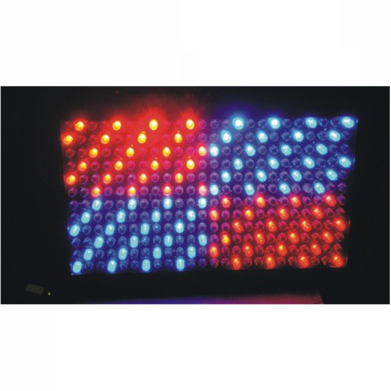 Remote 288PCS 10mm RGB LED Profile Panel Stage Effect Lighting