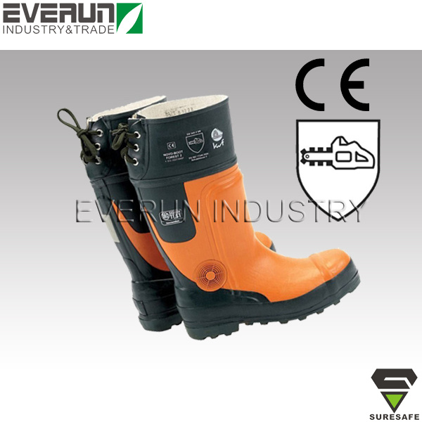 CE En ISO 17249 Loggers Boots Cut Resistant Boots Chainsaw protective Boots
