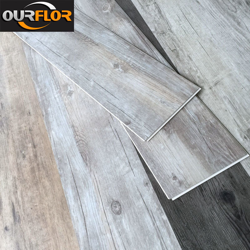 100% Waterproof WPC Vinyl Flooring Planks / Vinyl Floor Tiles