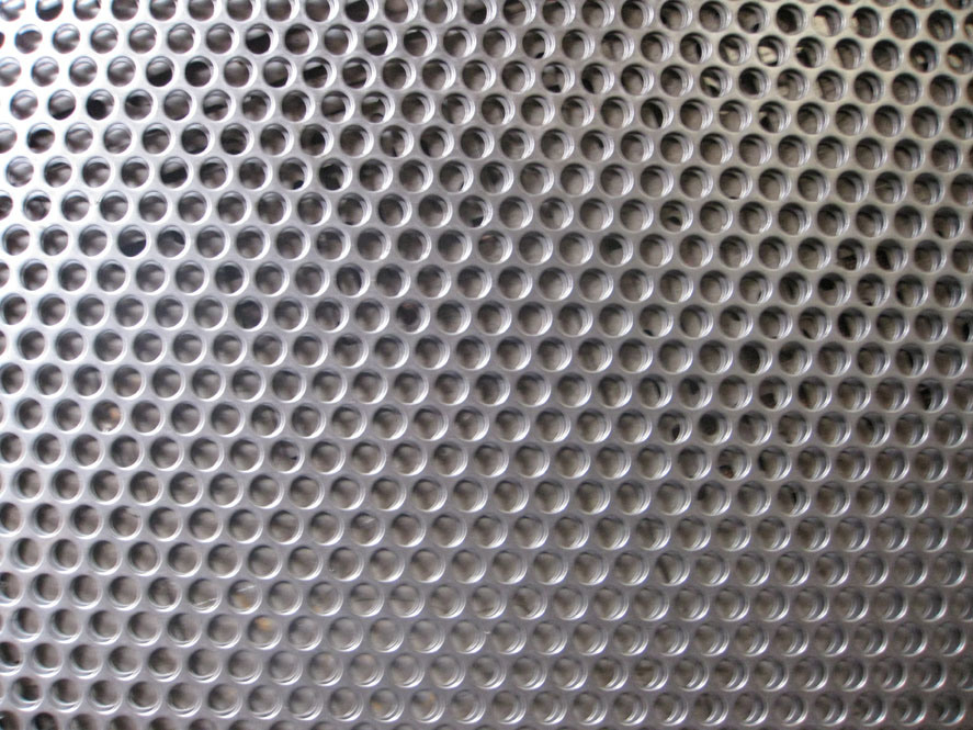 Stainless Steel Perforated Metal Sheet in Thickness 0.5mm to 5.0mm