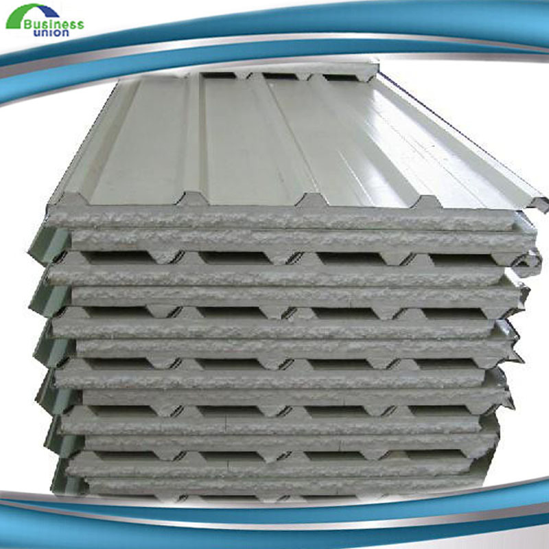 High Quality Color Steel EPS Foam Sandwich Panels on Sale