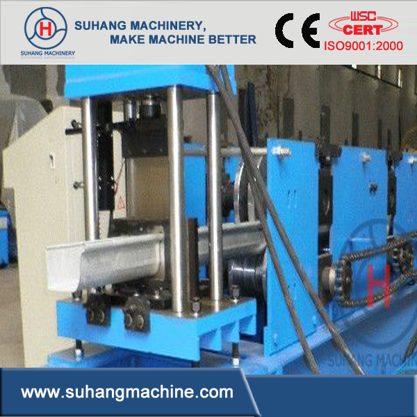 Fully Automatic Square Gutter Cold Roll Forming Machine