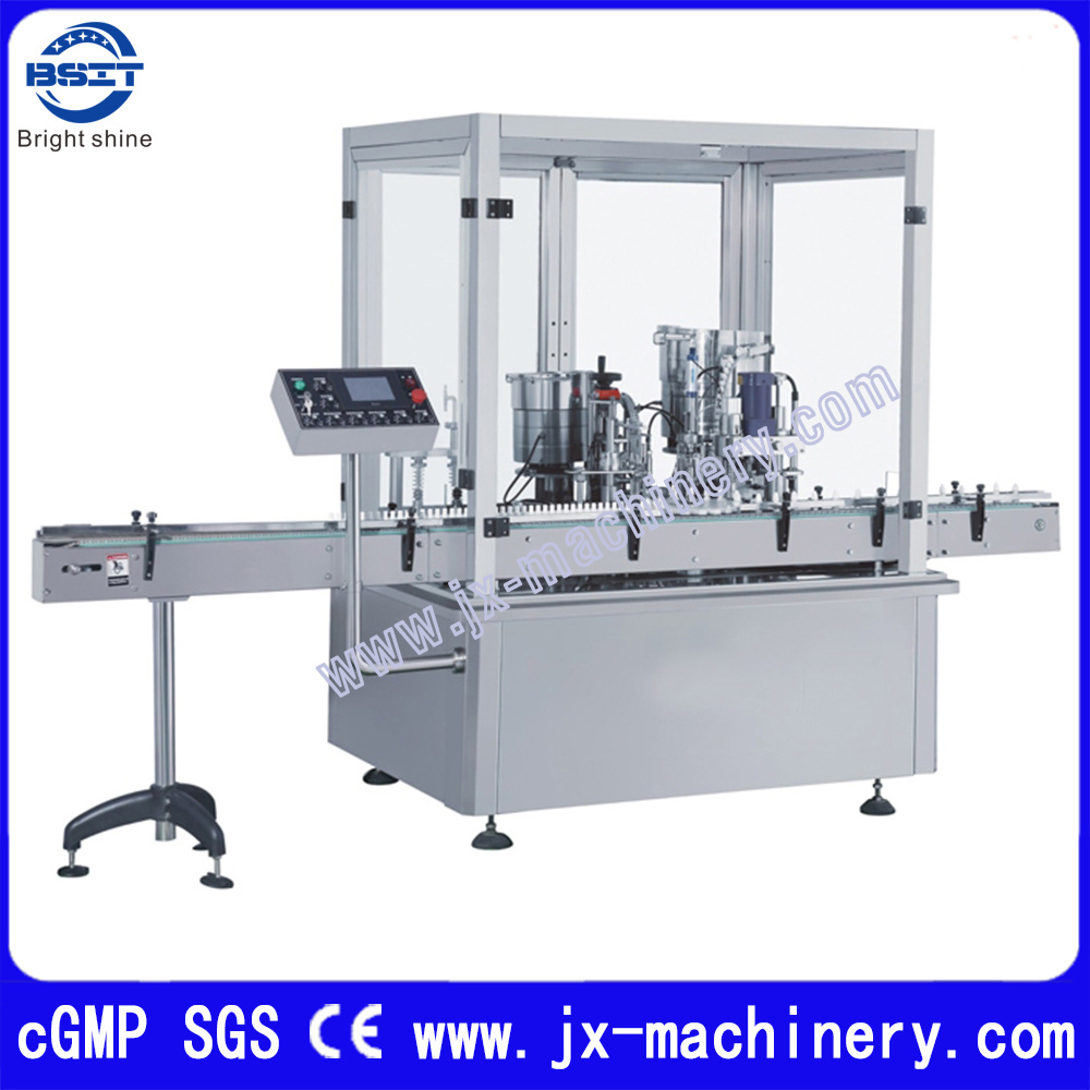 2-30ml Eye-Drop Filling Sealing Capping Labeling Machine Production Line
