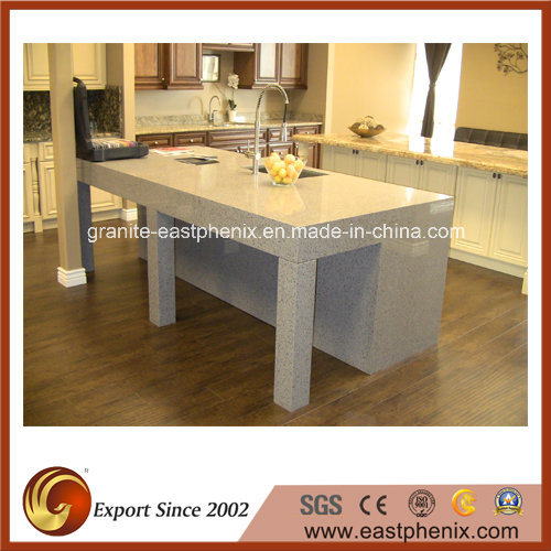 Polishing Quartz Kitchen Countertop for Sale