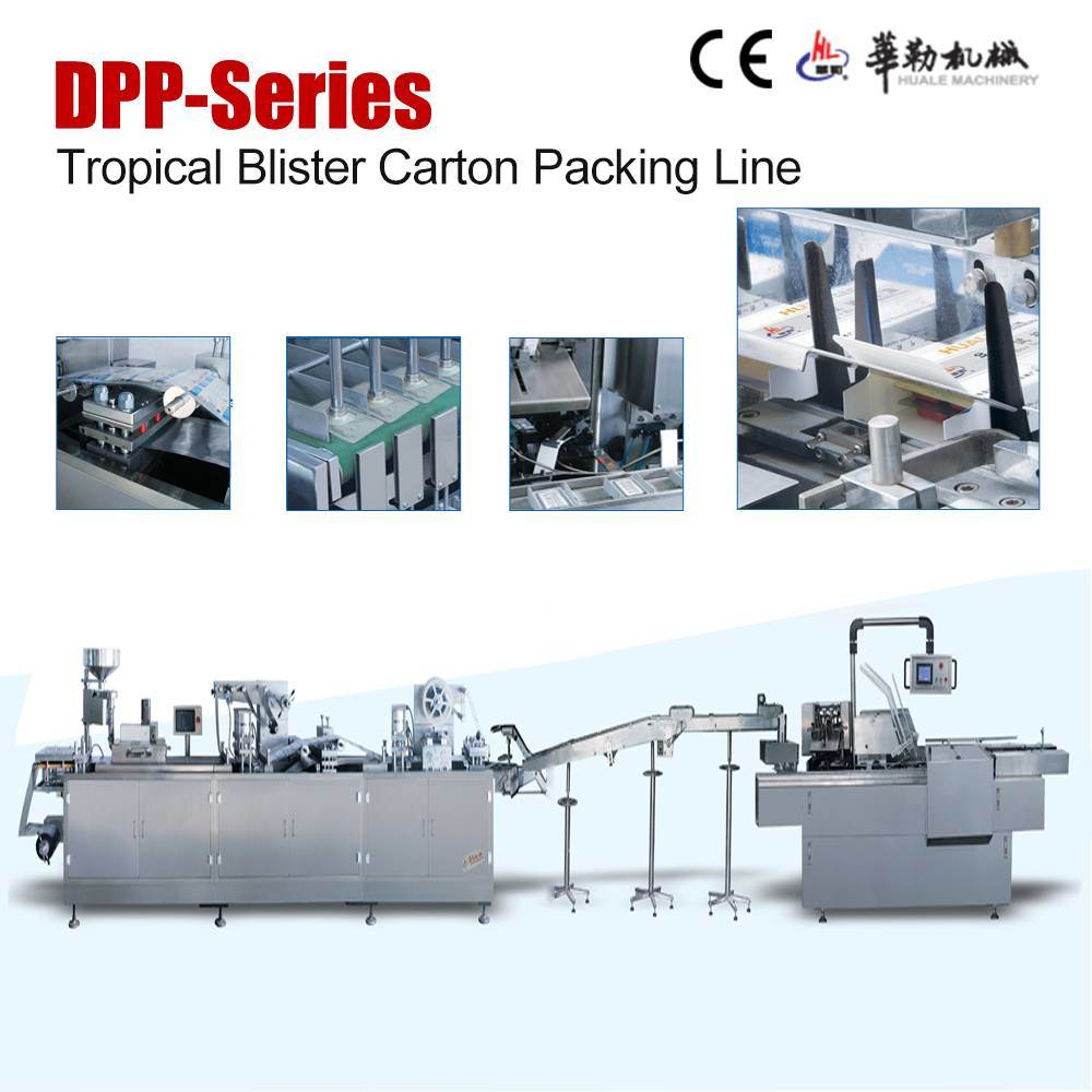 Tropical Blister Packing and Cartoning Production Line