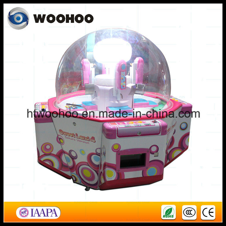 Coin Operated Candy Prize Game Machine Candy Vending Machine