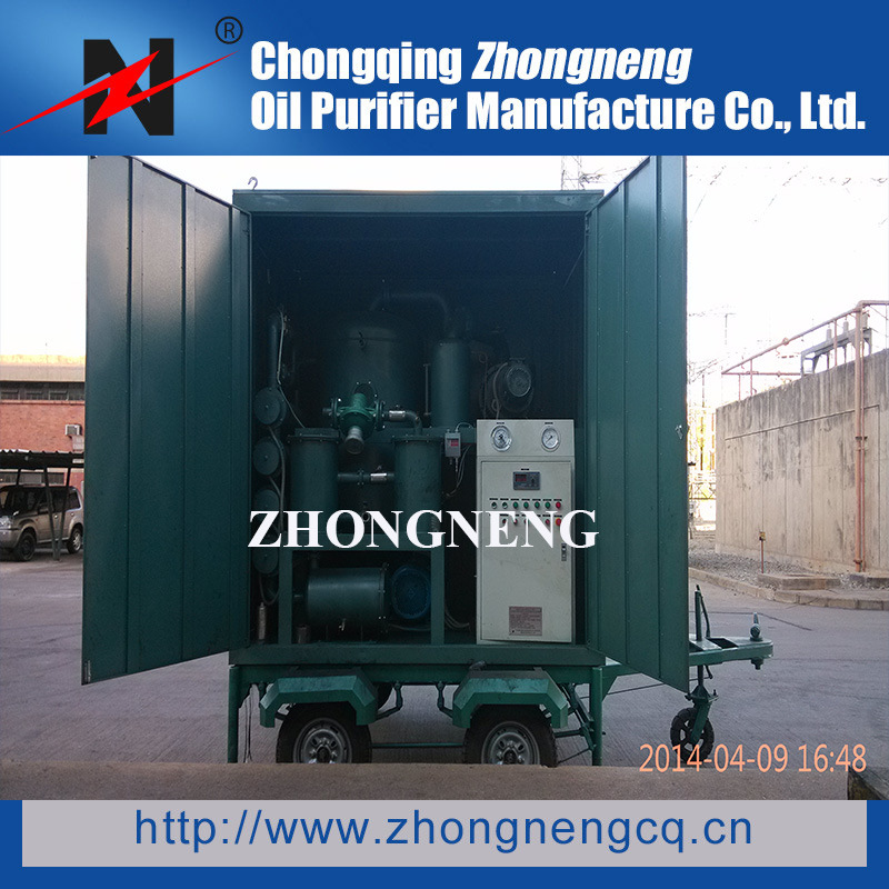 Double Stage Vacuum Insulating Oil Regeneration Purifier/Used Oil Recondition