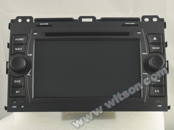 Witson Quad-Core Android 6.0 Car DVD Player for Toyota Prado 120 2g RAM Bulit in 4G 16GB ROM