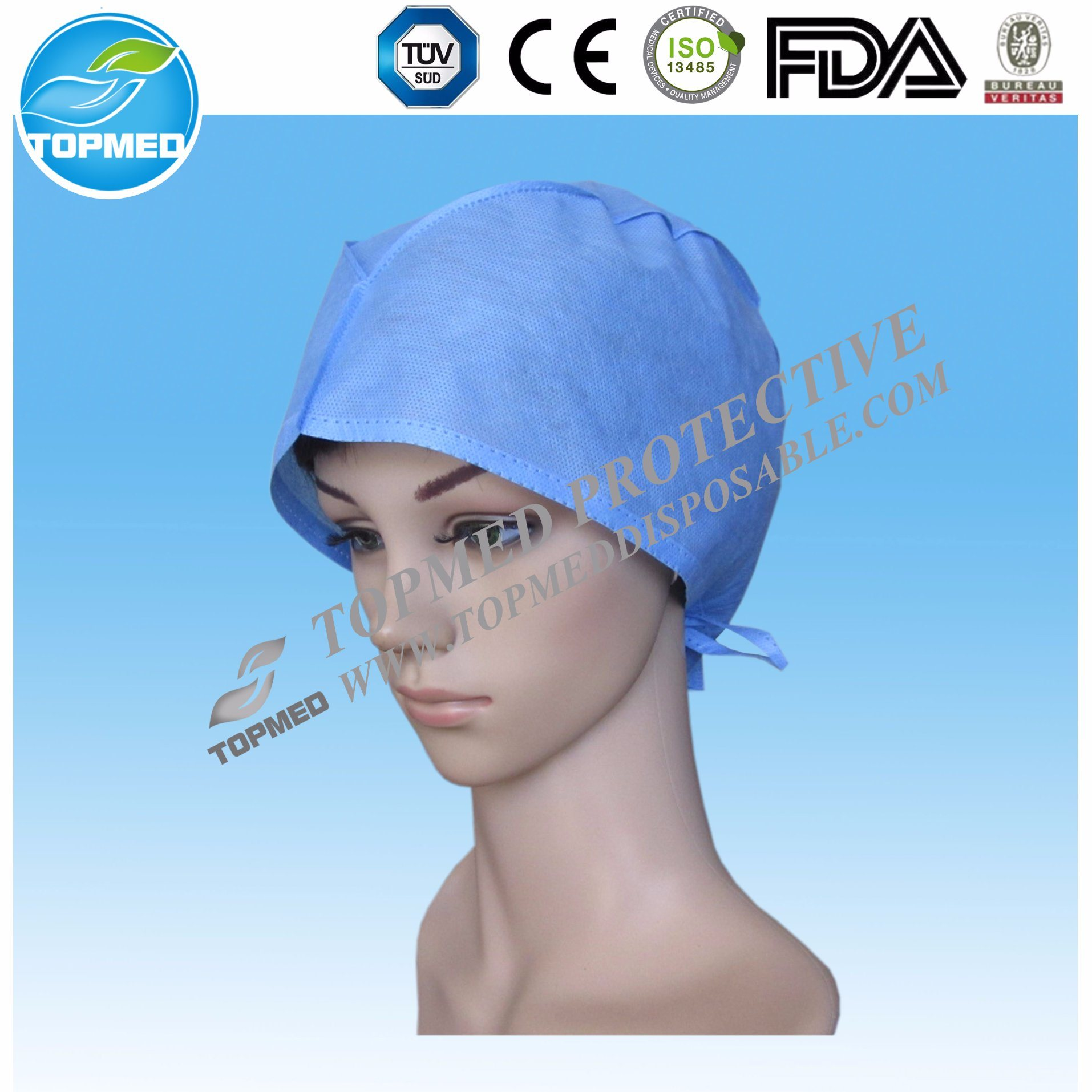 Disposable Comfortable Medical Doctor Cap