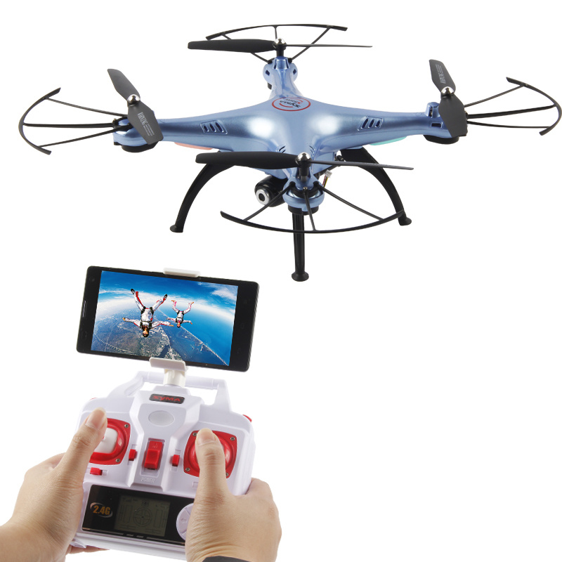 Phone Display Quadrocopter WiFi RC Camera Drone
