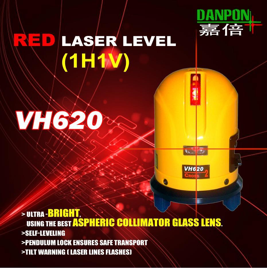 Danpon Red Beam Crossing Lines Laser Level Tool in Construction