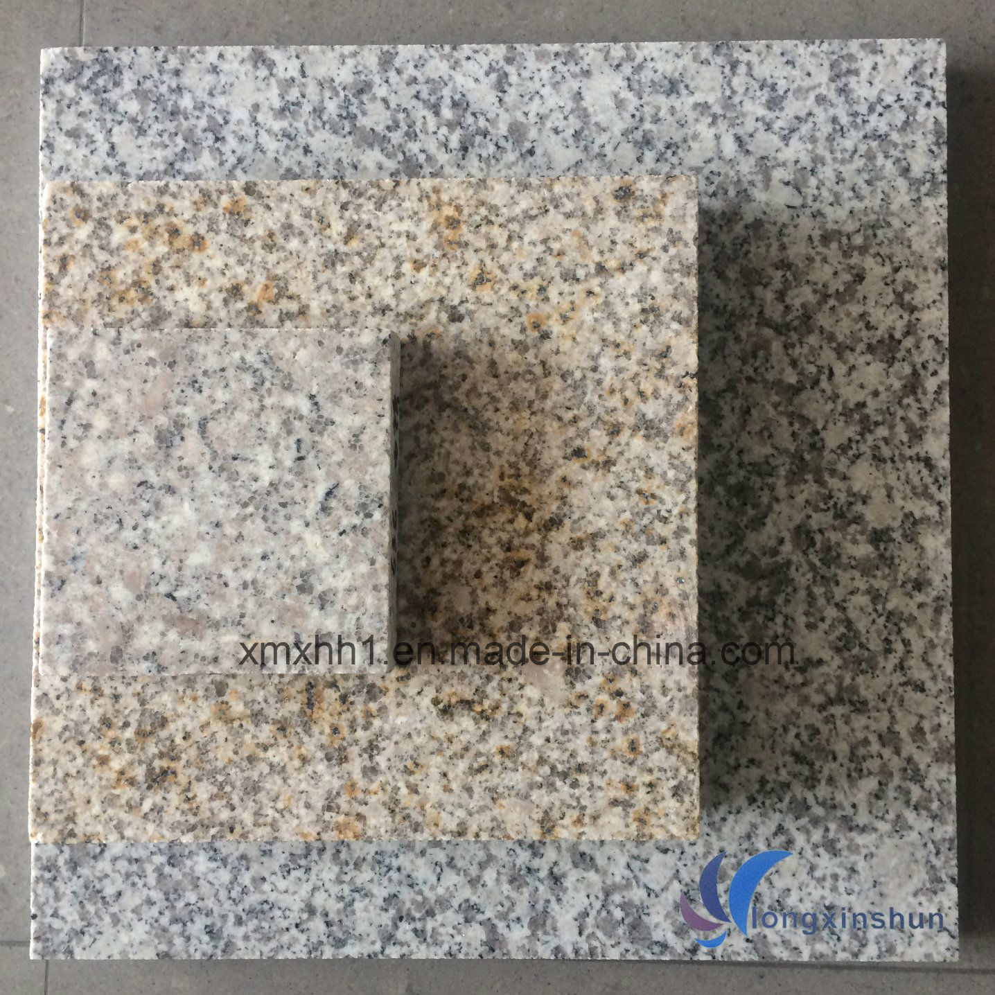 G603/G654/G664/Rusty Yellow White Grey Black Natural Granite/Marble Tile