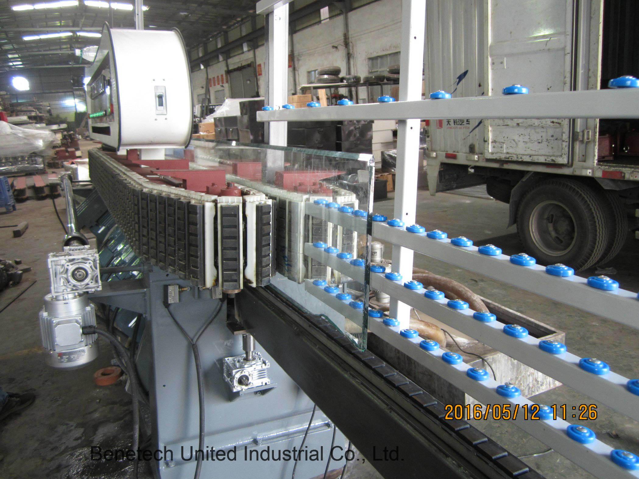 Glass Miter Machine 9spindles 45-90degree