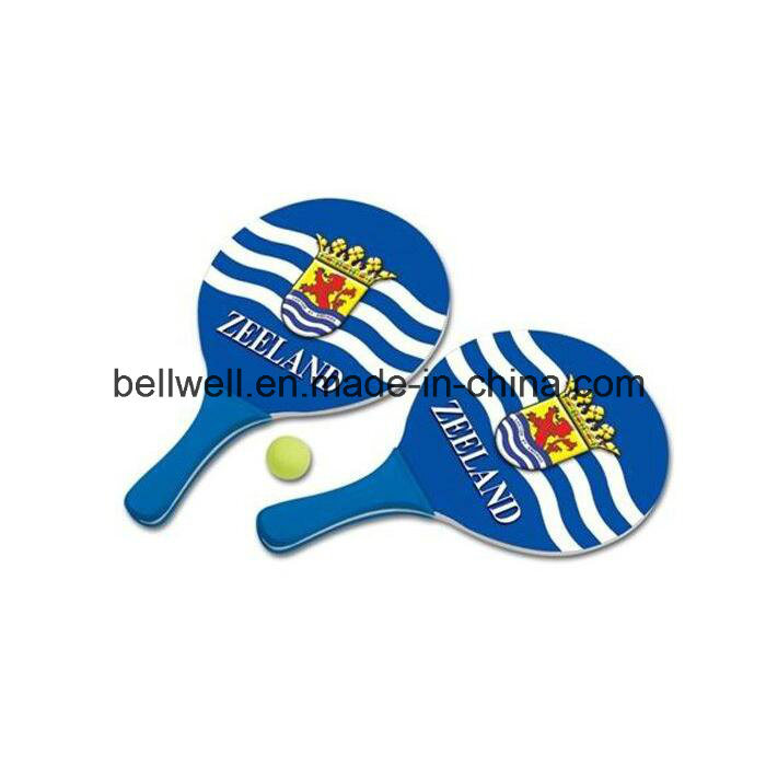 Promotional Beach Tennis Racket with 1 Ball