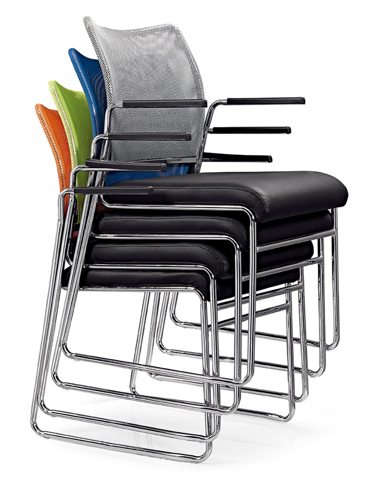 Modern Offic Conference Public Stacking Training Reception Chair