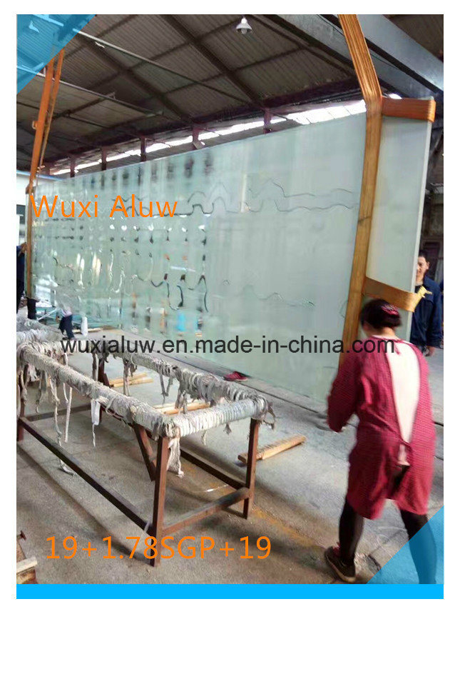 Large Size Laminated Glass for Building (imported film SGP)