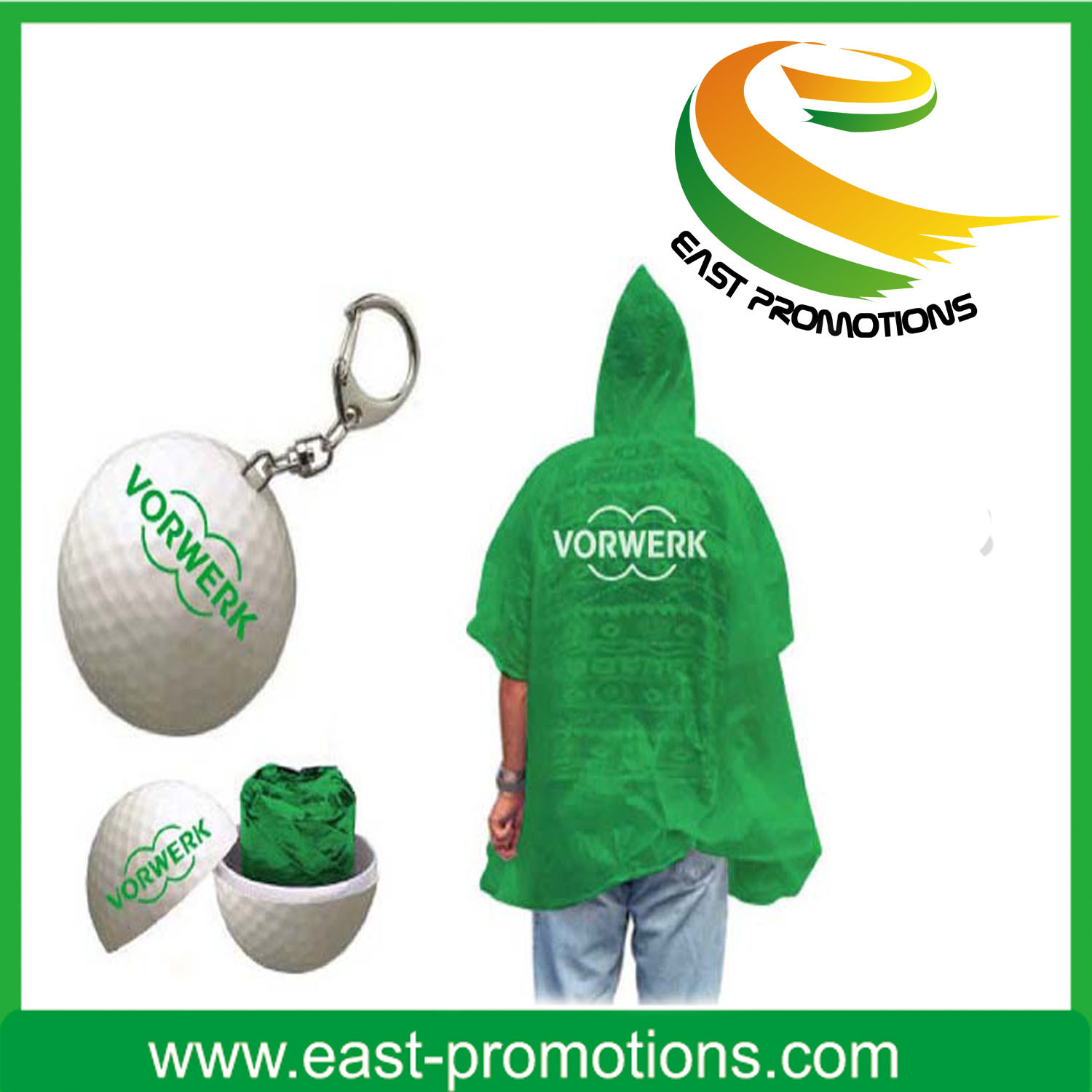 Plastic Raincoat in Ball Poncho Raincoat Balls for Sale