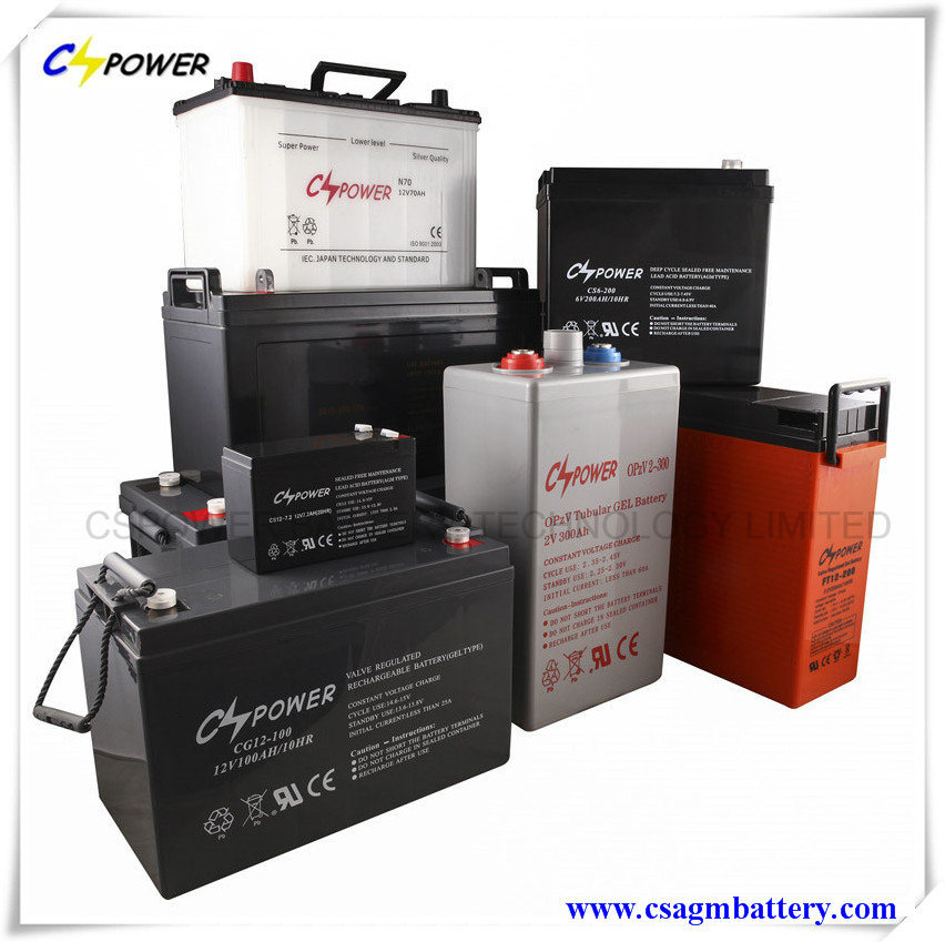 12V 150ah SMF Deep Cycle Gel Batteries for Solar Panel