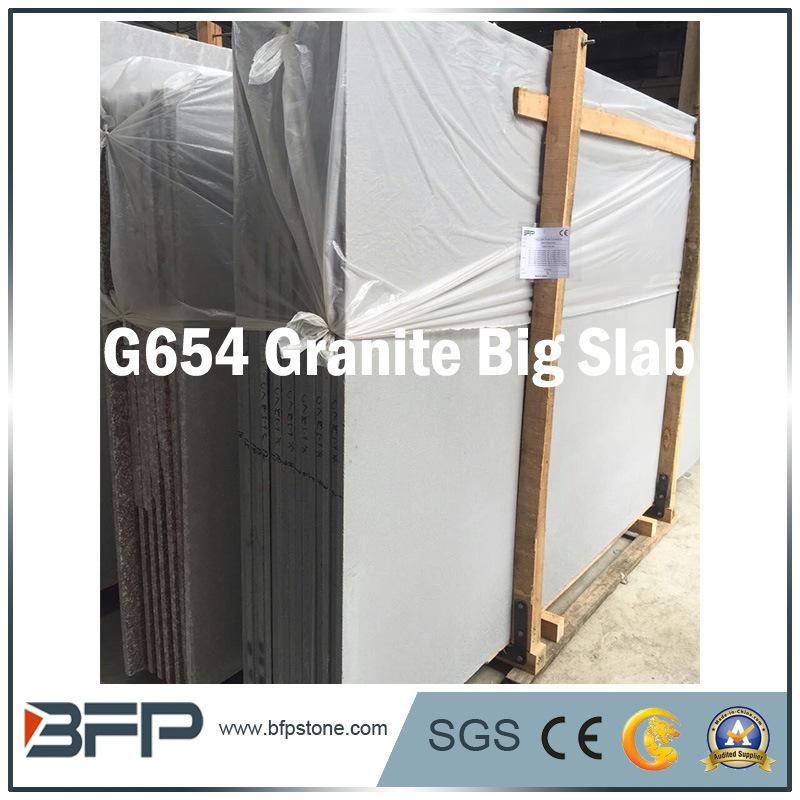 Chinese Granite Material Big Stone Slab for Step & Countertop G654