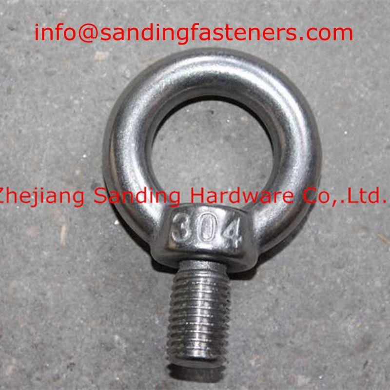 Carbon Steel Class8.8 Zinc Plated DIN580 Eye Bolts