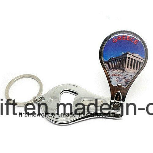 Promotional Gift Cheap Souvenir Customized Logo Keychain Bottle Opener (F5018E)