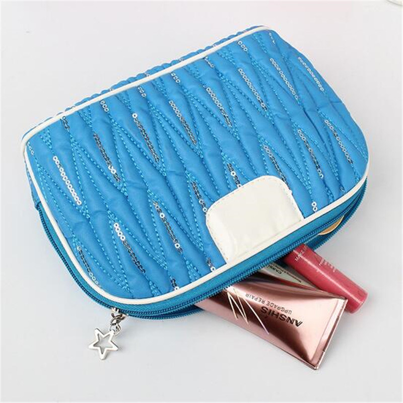 PU Cosmetic Bag Ladies Cosmetic Jewelry Bag Cosmetic Bag (GB#j1)