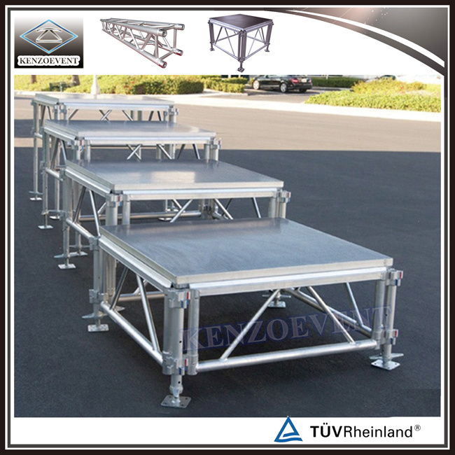 Aluminum Adjustable Mobile Event Stages for Sale