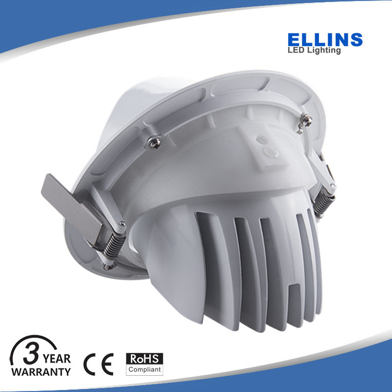 Adjustable Gimbal CREE 30W Dimmable COB LED Downlight Lifud Driver
