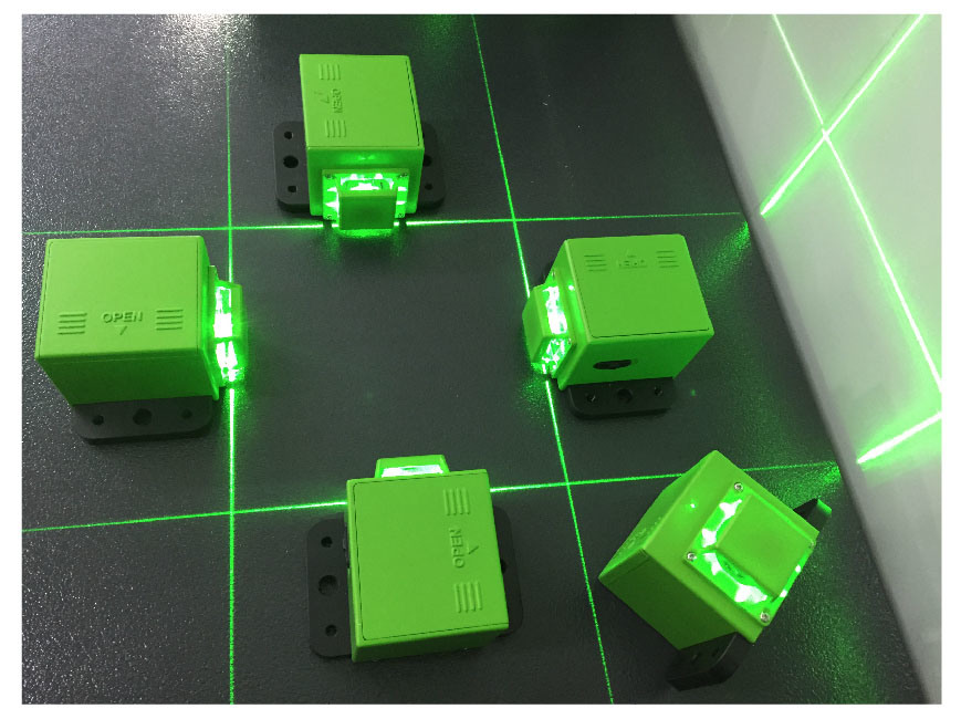 Danpon Green Red 360 Degree DOT Line Laser Modules Supplying