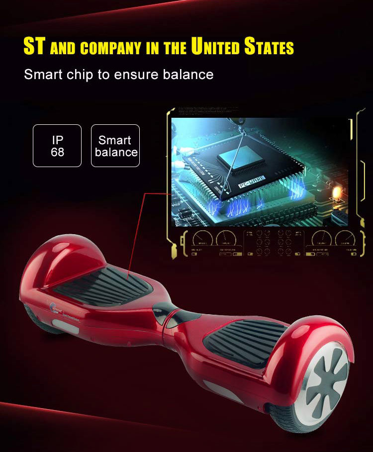USA Germany Warehouse Ce SAA UL Listed China Top Supplier Electric Hoverboard with Bluetooth