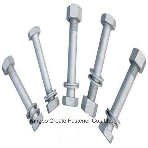 Hex Structural Bolts Heavy Hex Bolts for A325/A490/DIN6914/JIS B1186/As1252/BS4395/GB1228