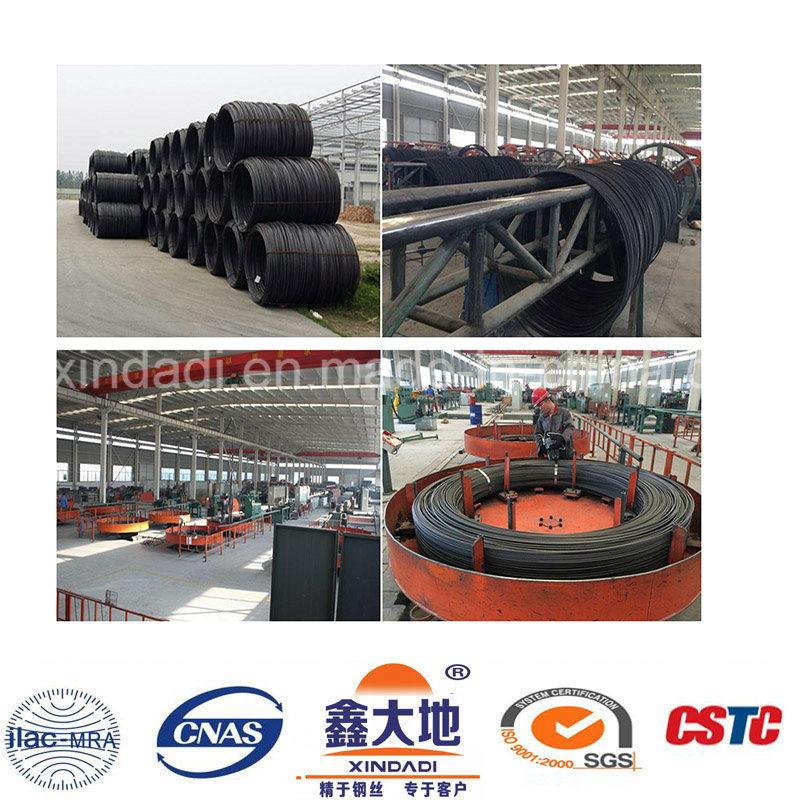7mm Spiral Ribs Steel Wire
