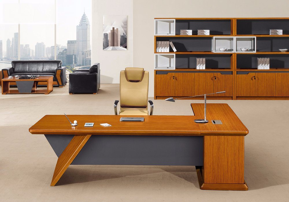 Modern MFC Laminated MDF Wooden Office Table (NS-NW1711)