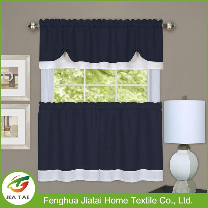 New Nesign Best Washable Polyester Mini Kitchen Curtain