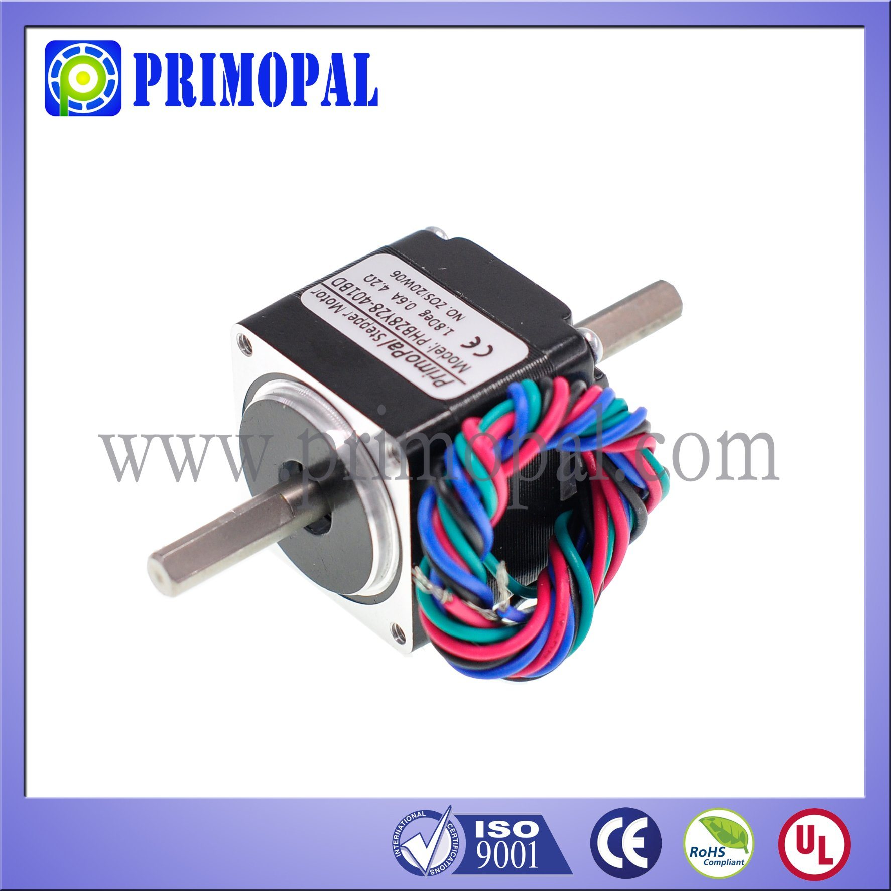 1.8 Degree 2 Phase NEMA 11 Stepper Motor