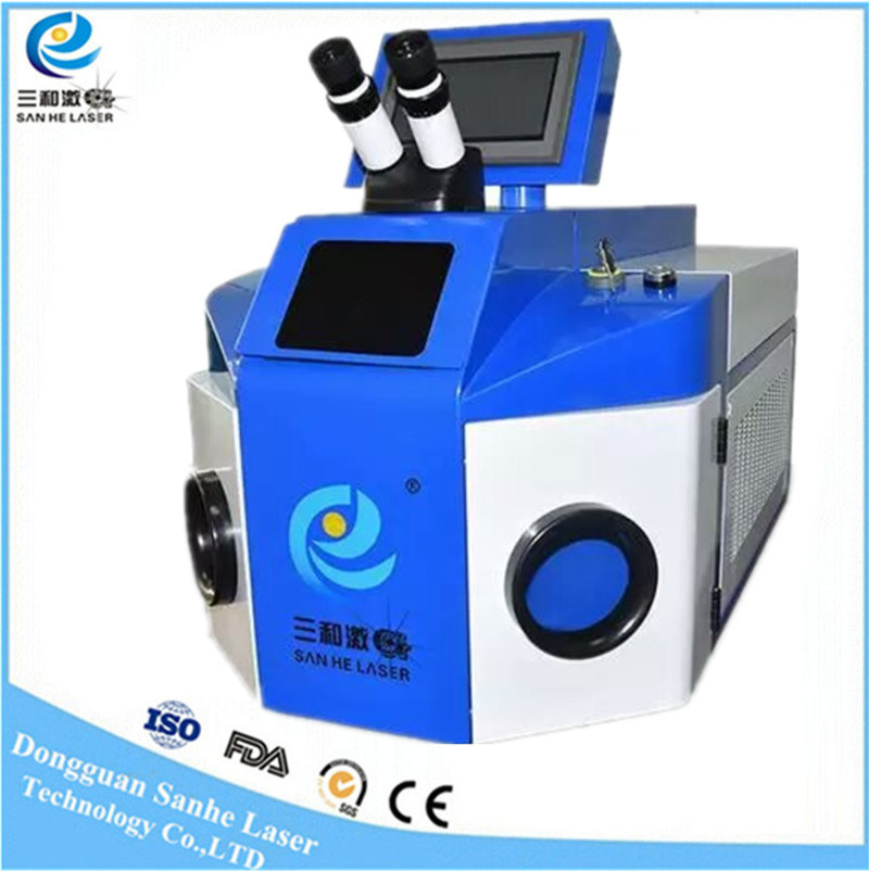 200W Gold Jewelry Laser Spot Beam YAG Welding Welder Machine for Sale
