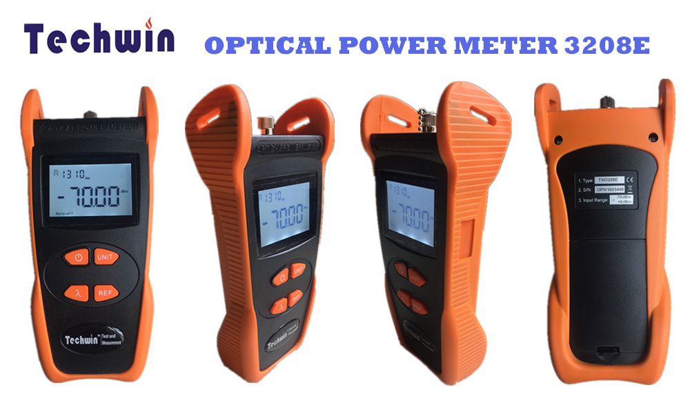 Techwin High Quality Optical Meter Price Fiber Optic Power Meter